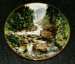 Vintage Collector Plate Yosemite Sea To Shining Sea Collection Out of Stock