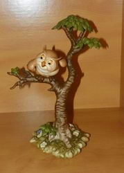 WDCC Figurine Friend Owl Bambi 1993 What's Going On Around Here
