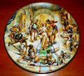 1978 Vintage Collector Plate The Creation Series Jacob's Wedding