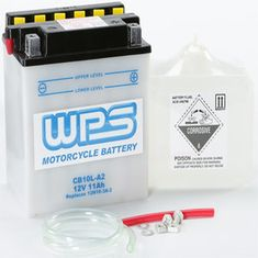 WPS CB10L-A2 motorcycle battery