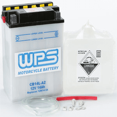 WPS CB14L-A2 Motorcycle Battery