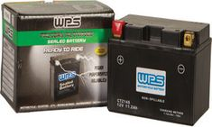 WPS CTZ14S Motorcycle Battery Honda Shadow