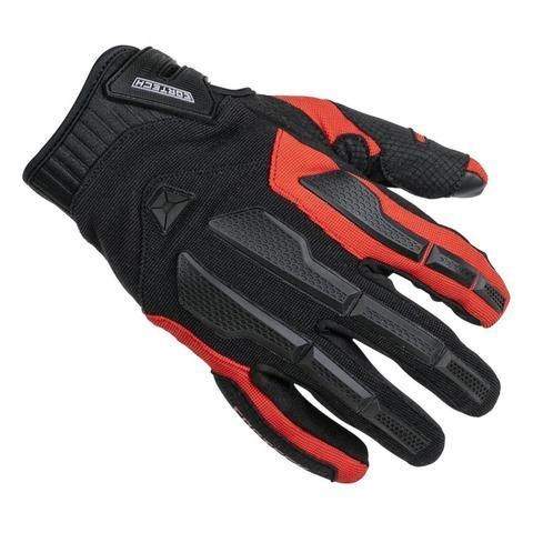 Cortech Aero-Tec Red Motorcycle Glove