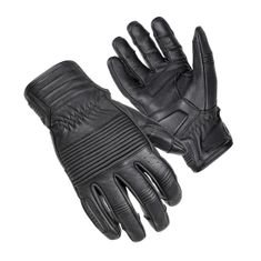 Cortech The Associate Black Motorcycle Glove