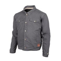 """Cortech """"The Denny"""" Charcoal Canvas Motorcycle Jacket"""