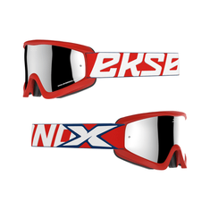 EKS Brand 2019 Flat Out Red / Navy MX Goggle