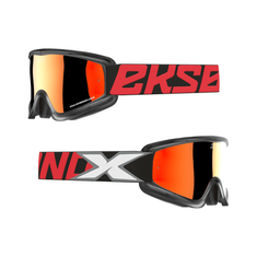 EKS Brand 2019 Flat Out Black/Red MX Goggle