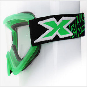 EKS Brand GOX Flat Out Liquid Green Motocross Goggle