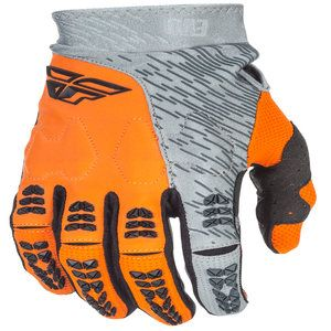 Fly Racing Evolution 2.0 MX Gloves Orange/Grey