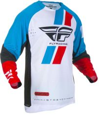 Fly Racing Evolution DST Red/Blue/Black MX Jersey