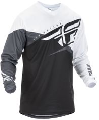 Fly Racing F-16 Blk/White Youth MX Jersey