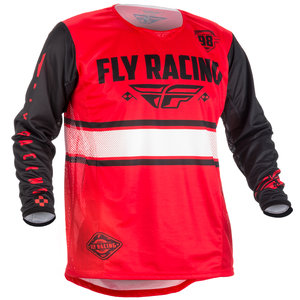 Fly Racing Kinetic Era Red/Black MX Jersey