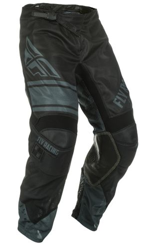 Fly Racing Kinetic Mesh Era Black/Gray MX Pant