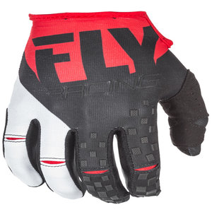 Fly Racing Kinetic Red/Black MX Glove