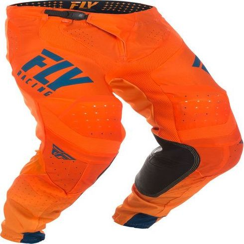 Fly Racing Lite Orange / Navy Motocross Pant