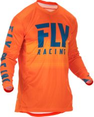 Fly Racing Lite Org/Navy MX Jersey