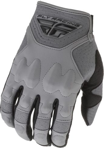 Fly Racing Patrol XC Lite Silver Off Road Gloves