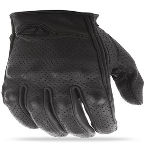 Fly Street Thrust Perforated Leather Motorcycle Glove