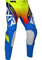 FXR Helium 21 Blue / Hi Vis MX Pants