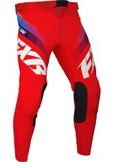 FXR Racing Clutch Red MX Pant