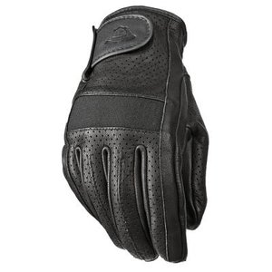 Highway 21 Jab Perforated Leather Motorcycle Gloves