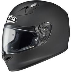 HJC FG-17 Matte Black Motorcycle Helmet...click on image to view video