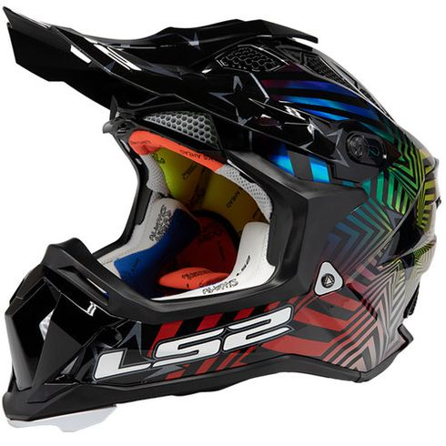 LS2 Subverter Super Collider Halo MX Helmet