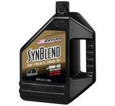 Maxima SynBlend 4 1 Gallon Motorcycle Oil