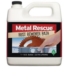 Metal Rescue Rust Remover Bath 1 Gallon