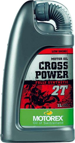 Motorex Cross Power 2T Two Stroke Motorcycle Oil