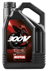 Motul 300V Synthetic Motor Oil 4 Liter 10w-40