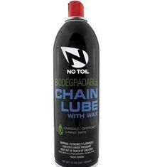 No Toil Biodegradable Chain Lube 12oz