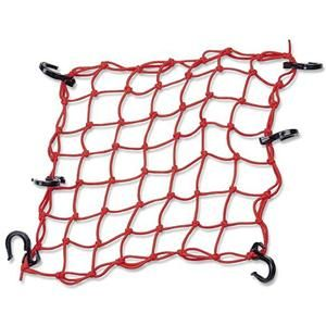 Powertye Adjustable Cargo Net Red