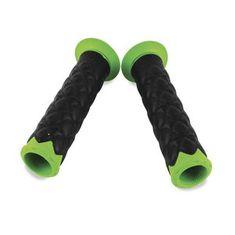Spider SLR Road Motorcycle Grips Green