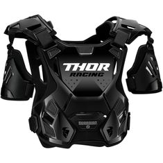 Thor Guardian Black MX Chest Protector