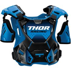 Thor Guardian Blue/Black MX Chest Protector