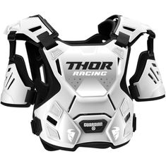 Thor Guardian White/Black MX Chest Protector