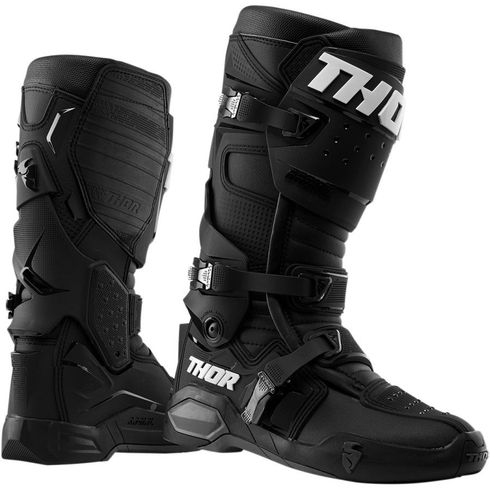 Thor Radial MX Black Boot