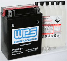 WPS CTX14H-BS Motorcycle Battery
