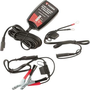 Yuasa 1 Amp Automatic Battery Charger & Maintainer