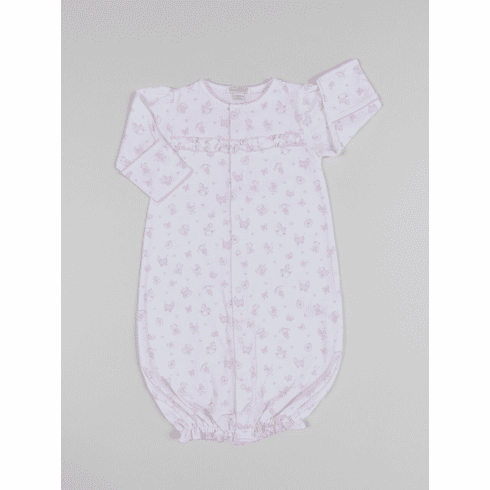 Kissy Kissy Baby-Boys Infant Baby Trunks Print Convertible Gown