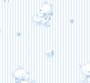 Kissy Kissy Bearly Believable Collection Blue