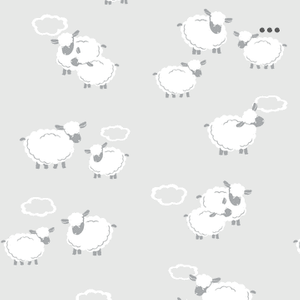 Kissy Kissy Cuddle Sheep Silver Collection