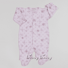 Kissy Kissy Baby-Girls Infant Trunk Mates Embroidered Footie
