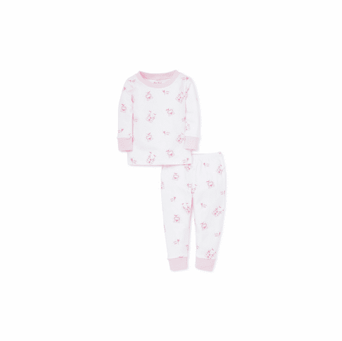 Kissy Kissy Princess Castle Print Long Pajamas S19PC190P