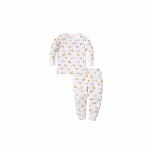 Kissy Kissy Safari Siblings Print Pajamas S2020SaSi190Pbluet