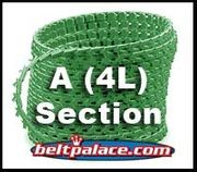 A SECTION Link V Belt. Sold as Roll of 100 Feet