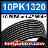 10PK1320 Automotive Serpentine (Micro-V) Belt