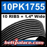 10PK1755 Automotive Serpentine (Micro-V) Belt