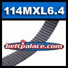 114MXL6.4 Metric Timing belt. Industrial Grade Standard 91MXL025.